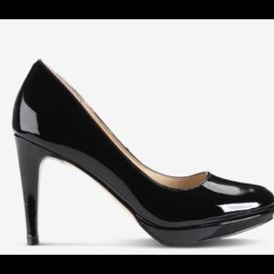 SALE!  Cole Haan Nike Air Black Patent  pumps